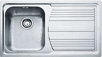 """Кухонная мойка Franke LLX 611  3,5"""" лев короб вент (101.0085.772), фото 1"""