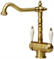 Кухонный смеситель Franke Old England Clear Water (бронза) (115.0028.204)