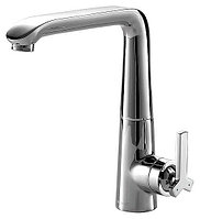Смеситель Bravat Waterfall F773107C для кухни с высоким поворотным изливом