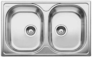 Кухонная мойка Blanco Tipo 8 compact matt (513459)матовая сталь