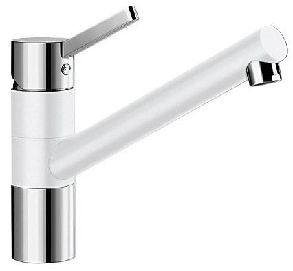 Кухонный смеситель Blanco Tivo - белый/хром (517603)