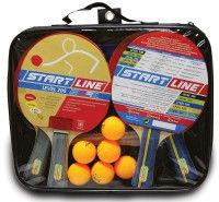Набор: 4 Ракетки Level 200, 6 Мячей Club Select, Сетка с креплением, упаковано в сумку на молнии с ручкой