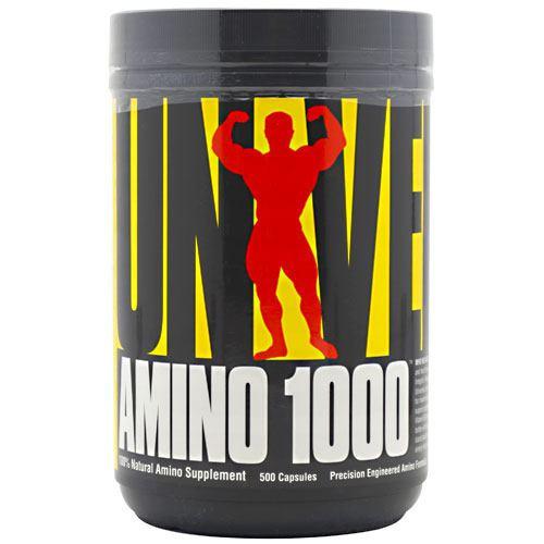 Аминокислоты UNIVERSAL AMINO 1000 500 капс.