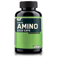 Аминокислоты OPTIMUM NUTRTION SUPER AMINO 2222, 150 CAPS.