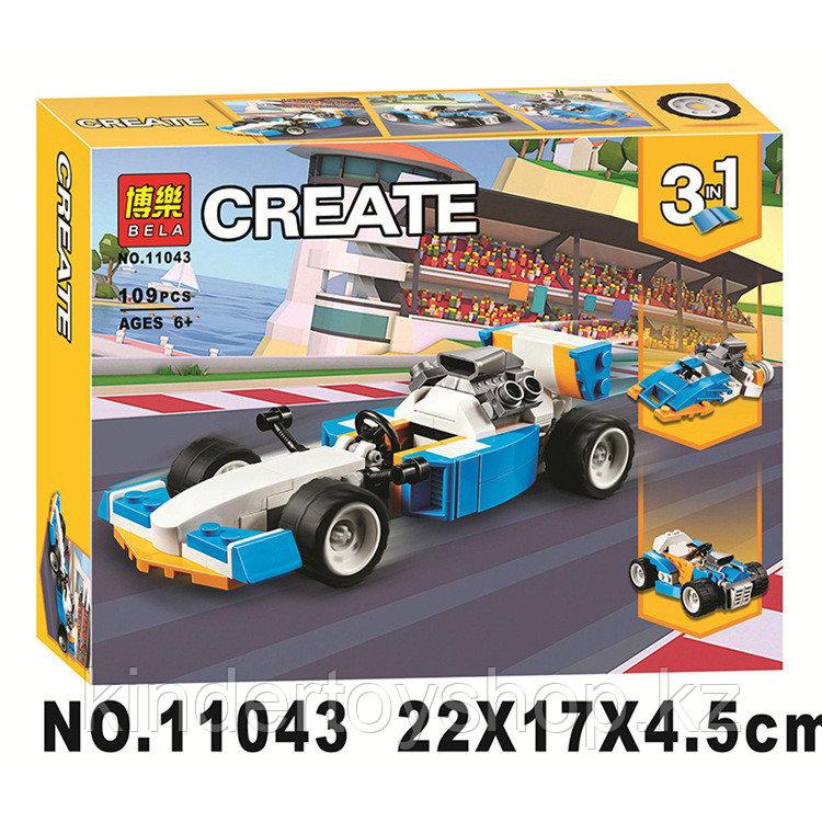 Конструктор bela creator 11043 Экстремальные гонки аналог Lego 31072