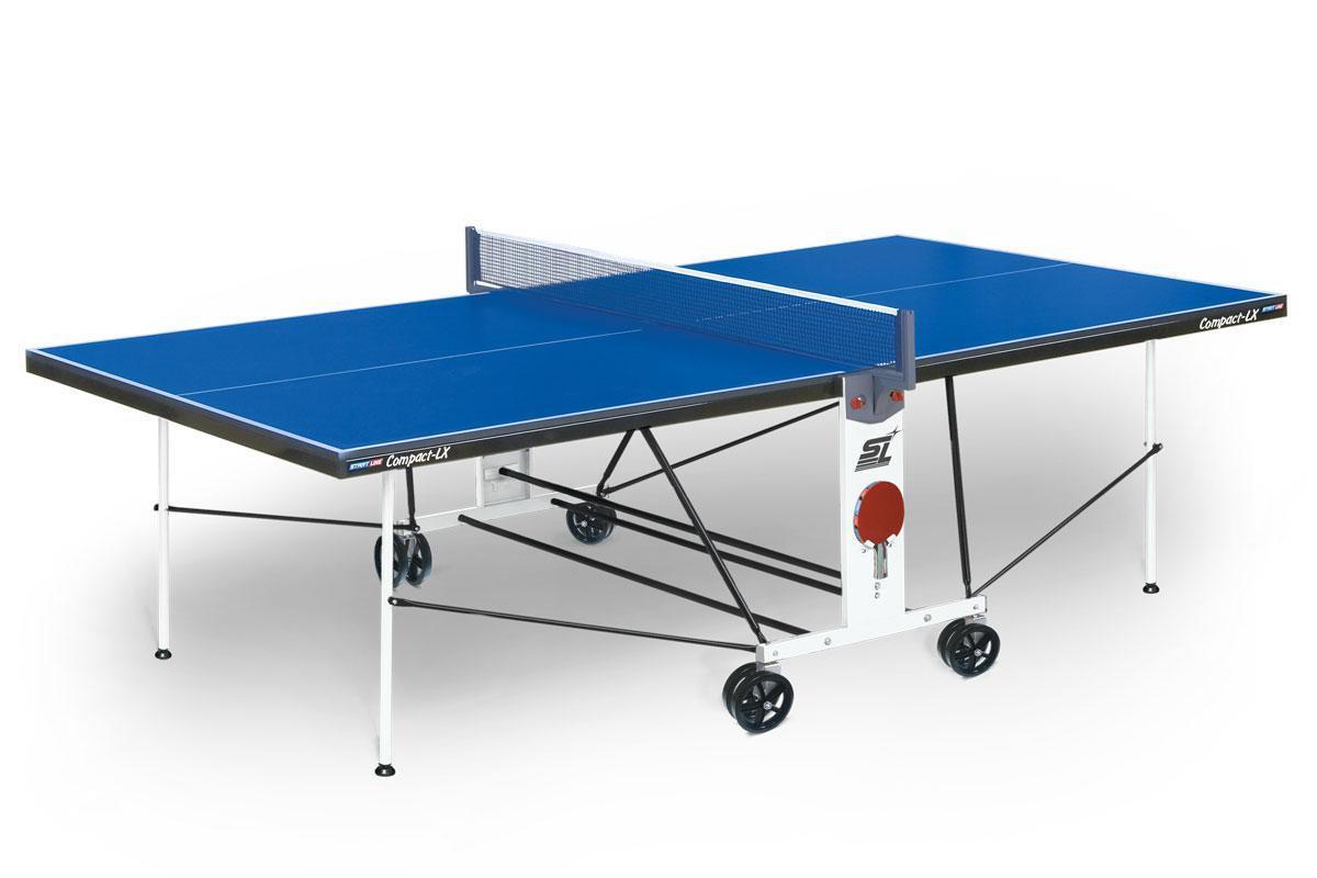 Теннисный стол Start Line Compact LX (2) ЛМДФ с сеткой (+Доставка)