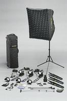 Dedolight S5M мастер-коплект Interviewer на 4 прибора 24/151 + насадка для Гобо