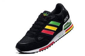 Кроссовки Adidas ZX 750 черные радуга