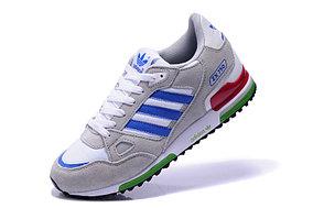 Кроссовки Adidas ZX 750 замшевые бело-серые