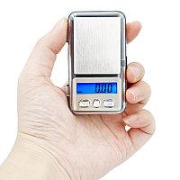 Карманные весы мини 500 грамм 0,1 г., фото 1