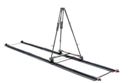Рельс копмплект длиной 3,6 метров с тележкой и штативом, фото 2