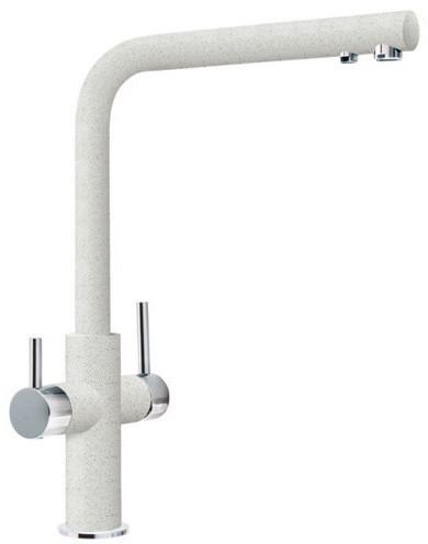 Кухонный смеситель Franke Neptune Clear Water с фильтрацией белый (115.0370.703)