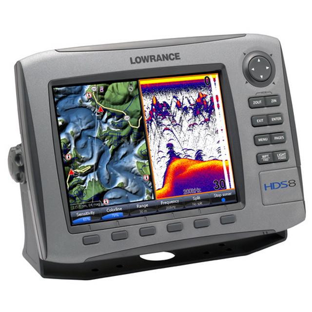 Навигатор-эхолот Lowrance HDS-8