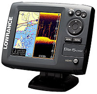 Навигатор-эхолот Lowrance ELITE-5 DSI