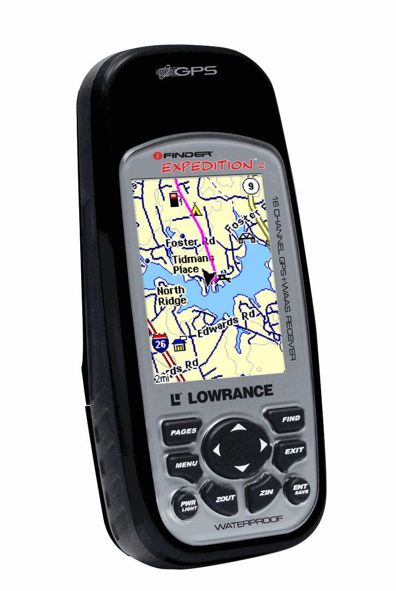 Навигатор портативный Lowrance iFINDER Expedition C