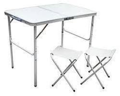 Стол 2 стула  0.9м х0.6м  8812