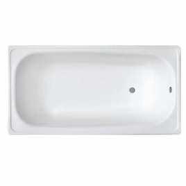 Ванна стальная эмалированная WHITE WAVE OPTIMA L-1700*700