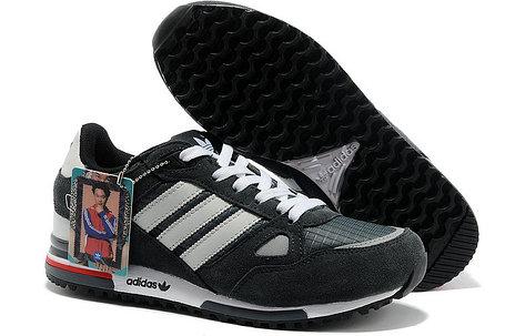 Кроссовки Adidas ZX 750 серые, фото 2