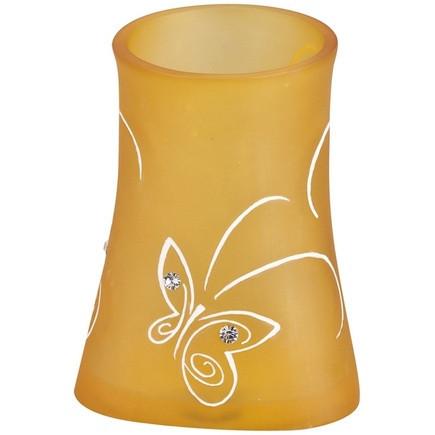 Стакан Аквалиния оранжевые бабочки BPO-0713C