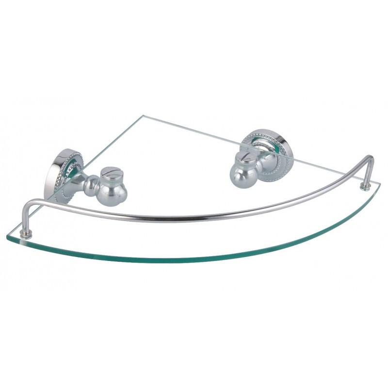 Полка Fixsen Style FX-41103А стеклянная угловая