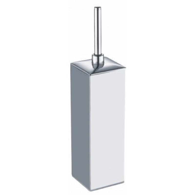 Ершик для унитаза Fixsen Kvadro FX-446 хромированный квадратный