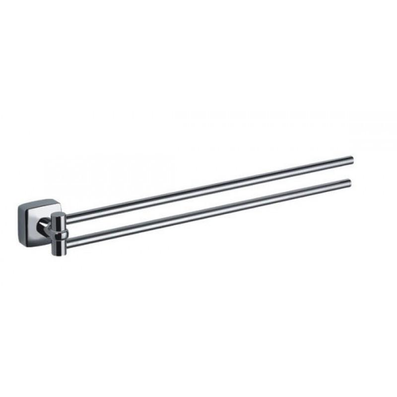 Полотенцедержатель Fixsen Kvadro FX-61302А рога двойной