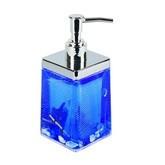 Дозатор для жидкого мыла Аквалиния синий ракушки