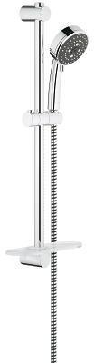Душевой гарнитур III, 9,5 л/мин, 600 мм, с полочкой GROHE VitalioComfort 100 III rail set 60