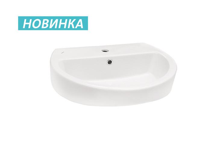 Умывальник Santek Аллегро-60 600x470x175 1/отв (1.WH30.1.953)