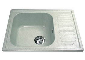 Кухонная мойка EcoStone ES-18, чаша 400*370*190 мм