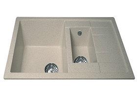 Кухонная мойка EcoStone ES-22 Двухсекционная реверсивная