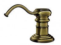 Дозатор для жидкого мыла Omoikiri OM-01-AB (4995003) встраиваемый, античная латунь, фото 1