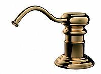 Дозатор для жидкого мыла Omoikiri OM-01-G (4995007) встраиваемый, золото, фото 1