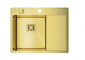 Кухонная мойка Omoikiri Akisame 65-LG-L (4993083) нерж сталь 40 см