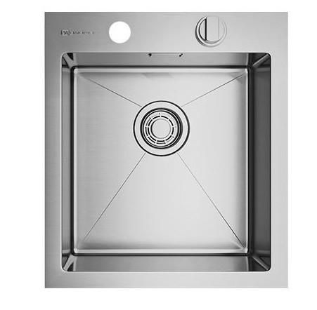 Кухонная мойка Omoikiri Akisame 41-IN (4993056)  нерж сталь 40 см