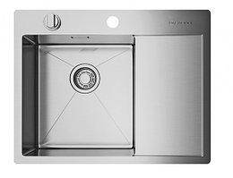 Кухонная мойка Omoikiri Akisame 65-IN-L (4993058)  нерж сталь 40 см