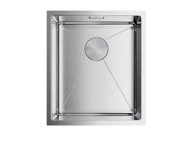Кухонная мойка Omoikiri Taki 38-U/IF-IN (4993043)  нерж сталь 45 см