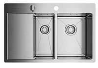 Кухонная мойка Omoikiri Akisame 78-2-IN-R (4993063) нерж сталь 60 см