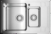 Кухонная мойка Omoikiri Mizu 78-2-L (4973012) нерж сталь 60 см