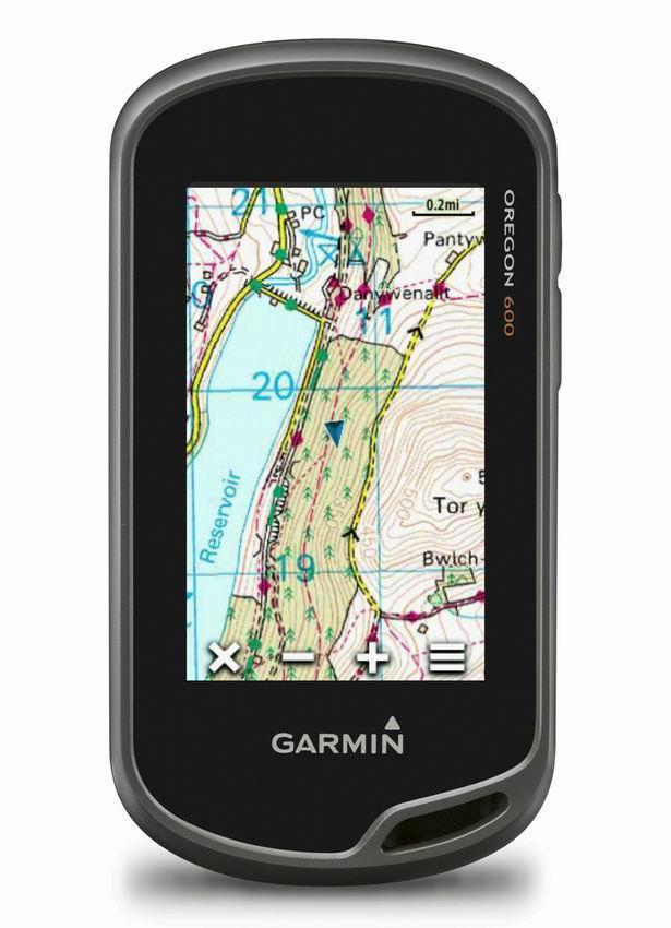 Навигатор портативный GARMIN OREGON 600