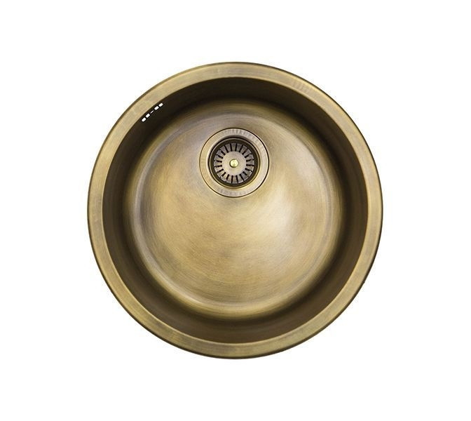 Кухонная мойка Omoikiri Mogami (4993320) Натуральная латунь
