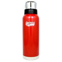 Термос ARCTICA (1,2л)(32ч)(металл/эмаль)-красный