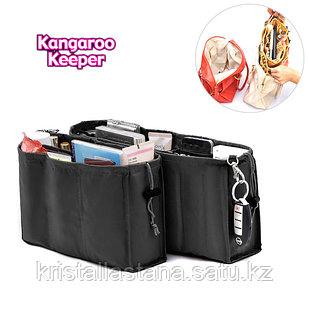 Органайзер для сумочки черного цвета набор 2 шт