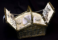 Корзина для пикника ZHIQUAN ZQ1-3832 на 4 персоны