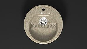 Мойка кухонная Marbaxx Черая Z3,цвет песочный