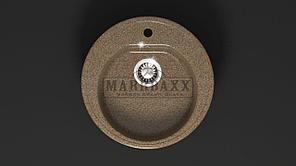 Мойка кухонная Marbaxx Черая Z3,цвет терракот