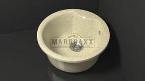 Мойка кухонная Marbaxx Флори Z2 бежевый фреш