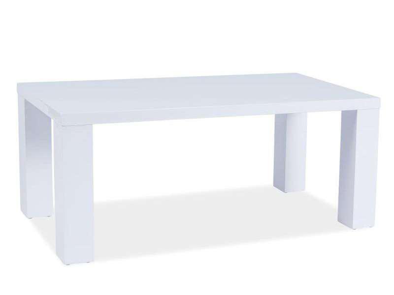 Стол обеденный Signal MONTEGO белый лак - фото 2
