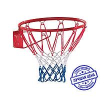 Кольцо баскетбольное с сеткой
