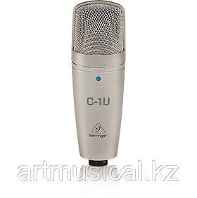 BEHRINGER C-1U - конденсаторный микрофон со встроенным USB аудиоинтерфейсом
